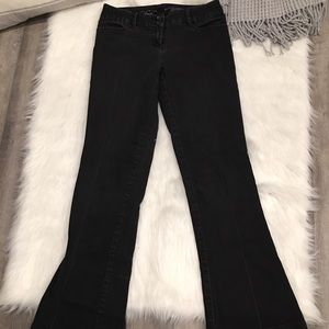 The Limited Denim Black Dark Fit & Flare Jeans